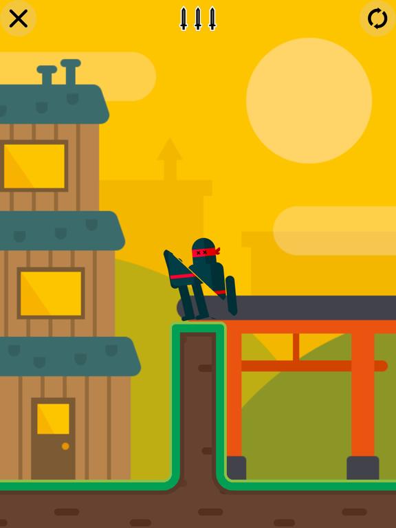 iPad Image of Mr Ninja - Slicey Puzzles