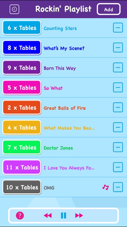 Maths Rockx: Times Tables! screenshot-4