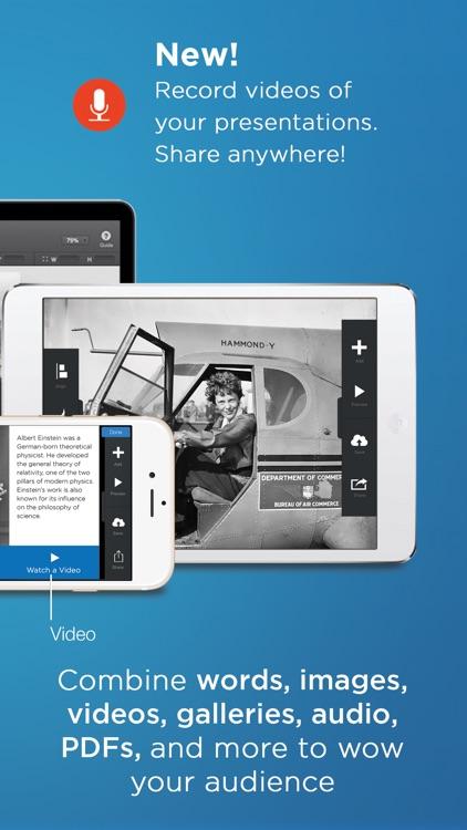 FlowVella Presentation App