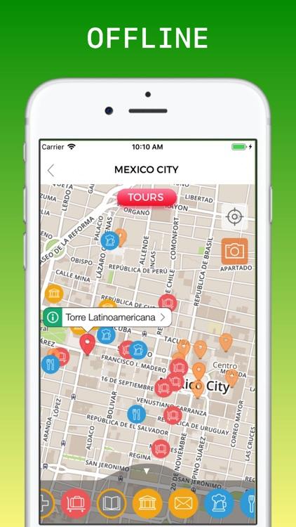 Mexico City Travel Guide & Map screenshot-3