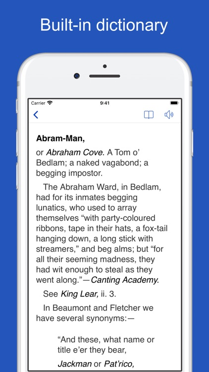 Dictionary of Phrase and Fable screenshot-6