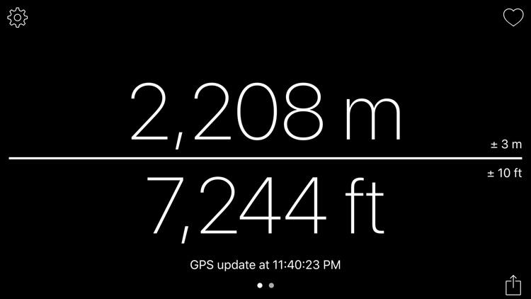 Altimeter - get your altitude screenshot-8