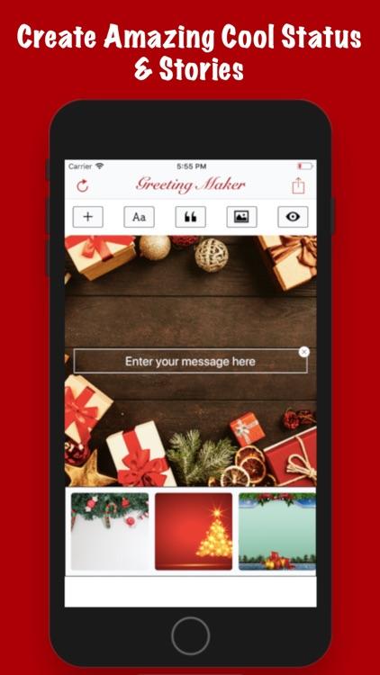 Greeting Maker-Holiday Invite