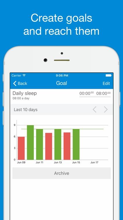 TimeTrack - Tracking Time Easy screenshot-3