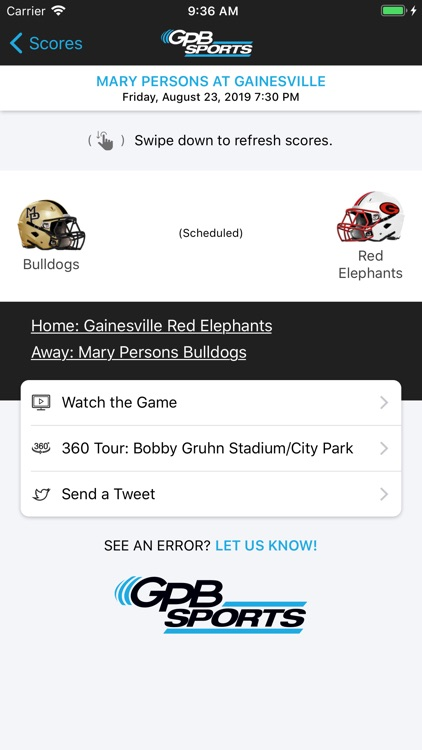 GPB Sports screenshot-3