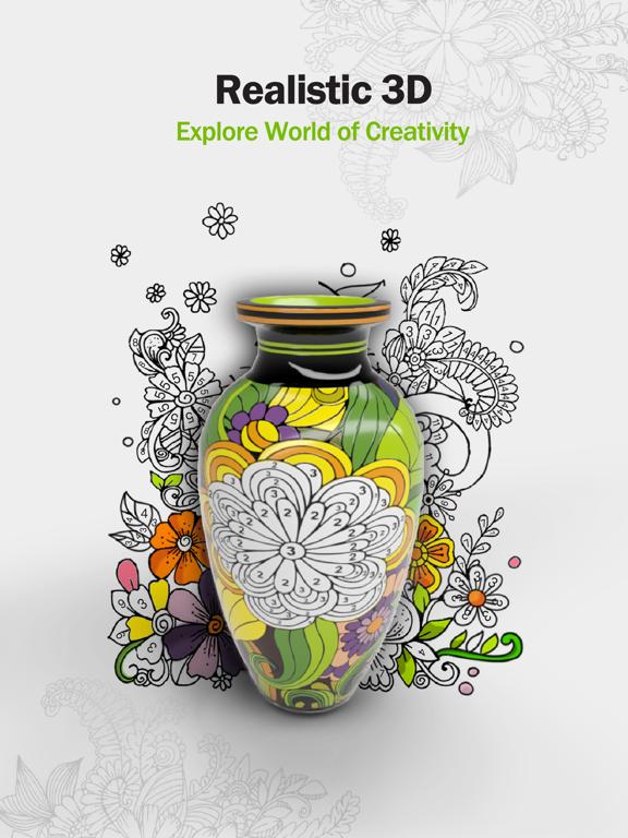 Paint.ly 3D: Pottery Art Color screenshot 6