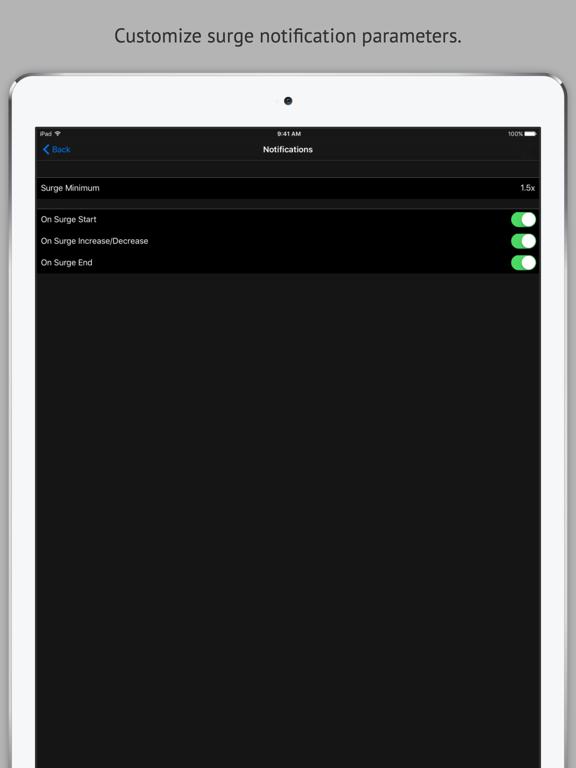 Surge - Surge Tracking for Uber screenshot