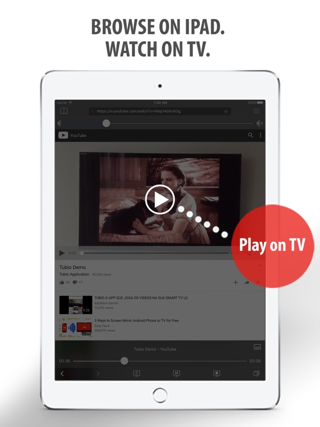 Tubio - Cast Web Videos to TV on the App Store