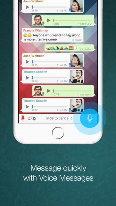 Screenshot for WhatsApp Messenger in Israel App Store