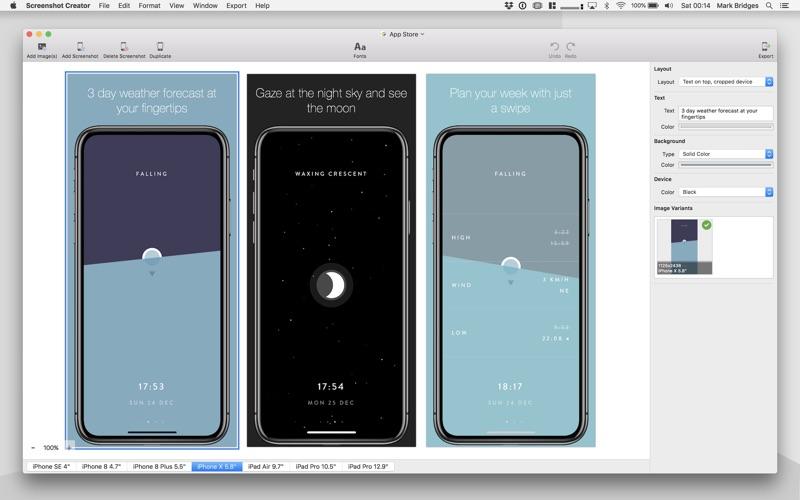 Screenshot Creator review screenshots