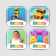 SKIDOS Cool Math, Coding & Vocabulary Games For 4,5,6 Year Old Kids, Girls, Boys