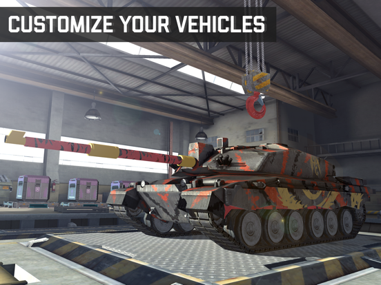 Massive Warfare: war machines screenshot 13