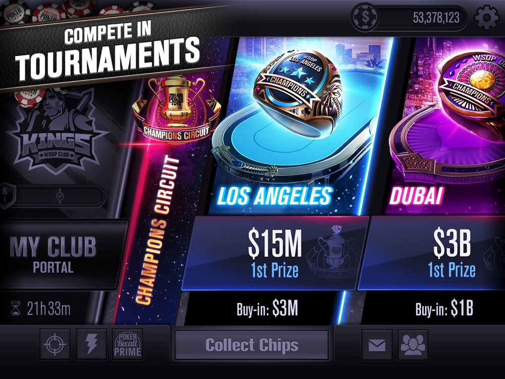 World Series Poker App