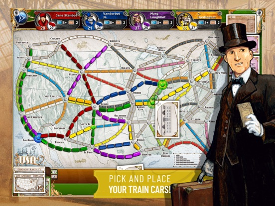 Ticket to Ride - Train Game Screenshots