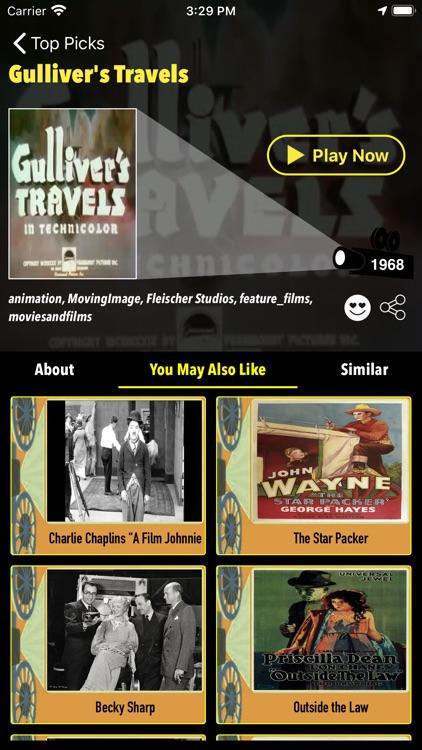 Retro Cinema-Classic Movie Box screenshot-6