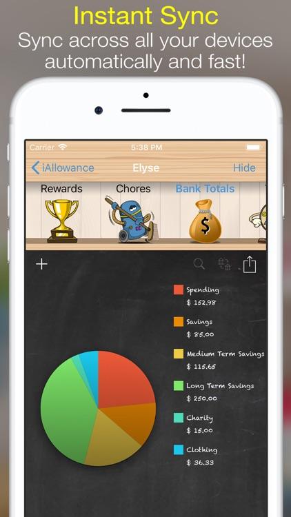 iAllowance Lite with Chores screenshot-4