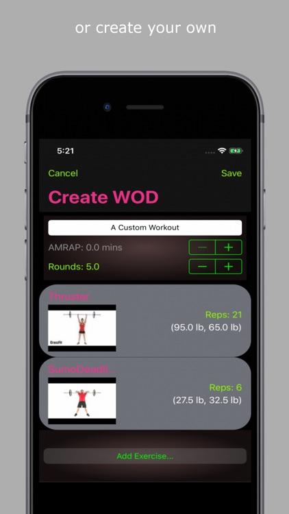 CROSSBOX - Wod. Lift. Run. screenshot-4