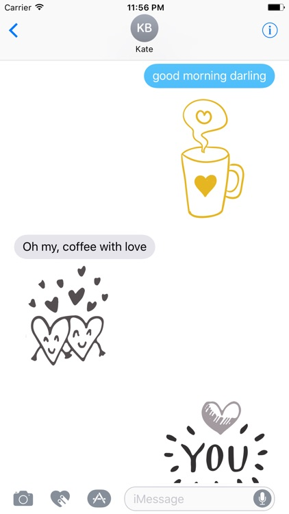LOVe DOODLe Stickers