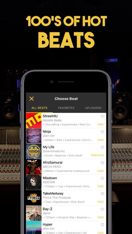 RapFame - Rap Recording Studio screenshot-0