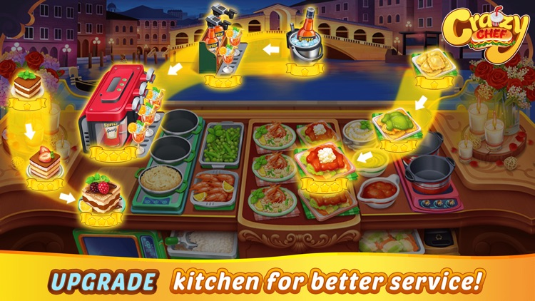 Crazy Chef Cooking Games screenshot-4