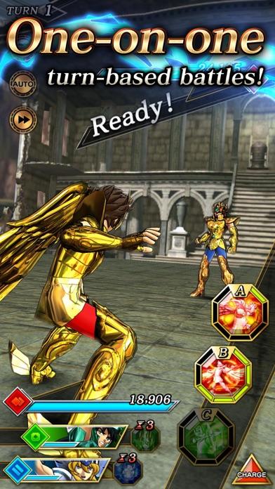 SAINT SEIYA SHINING SOLDIERS screenshot 3