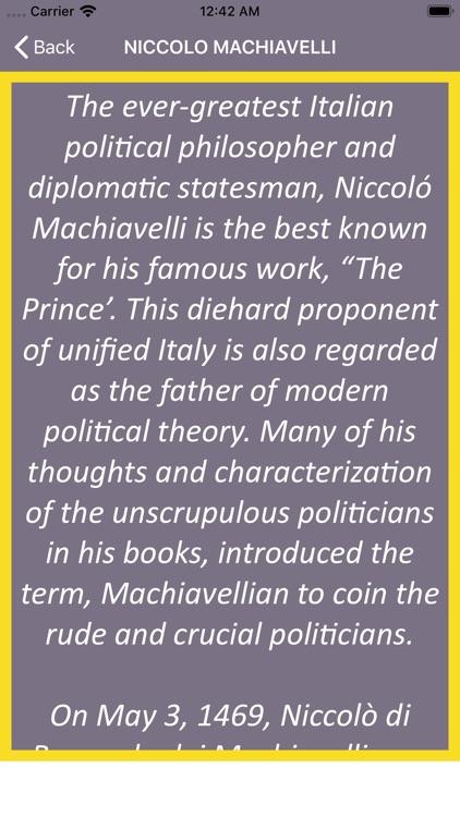 Wisdom of Machiavelli screenshot-3
