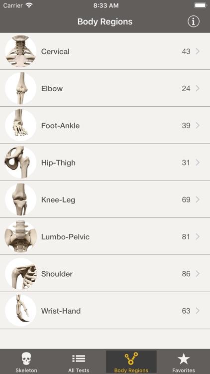 CORE -Clinical Orthopedic Exam