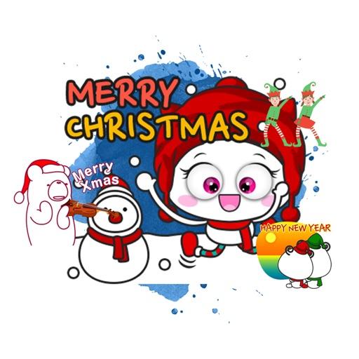 Animated Christmas Stickers 20
