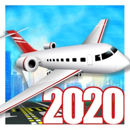 Flight Simulator Airplane 2020
