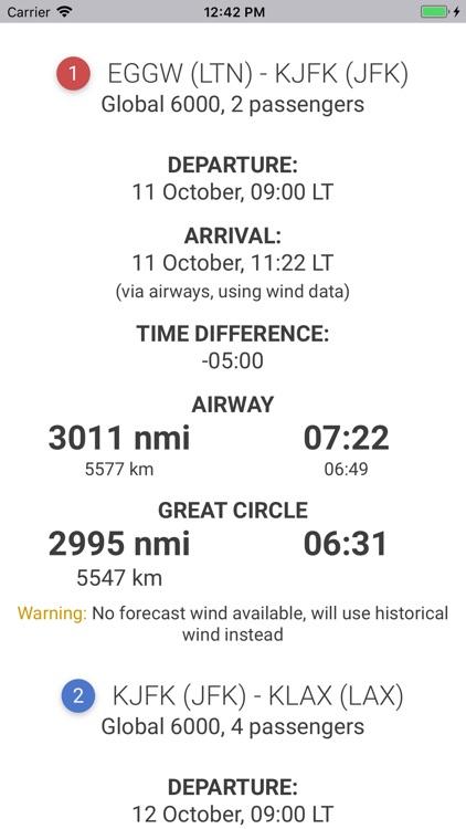 Flight Time Calculator by Evgeny Chuprov