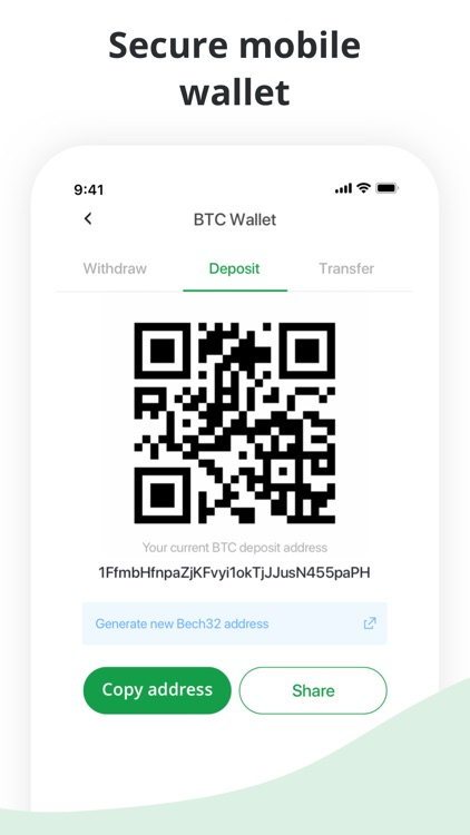 Bitstamp – crypto exchange app screenshot-6