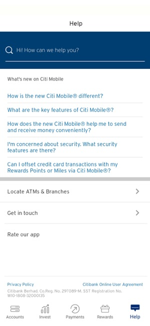 Citibank Secure Login >> Citibank My On The App Store