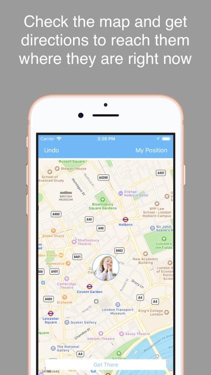 Track My Kid  - GPS localizer