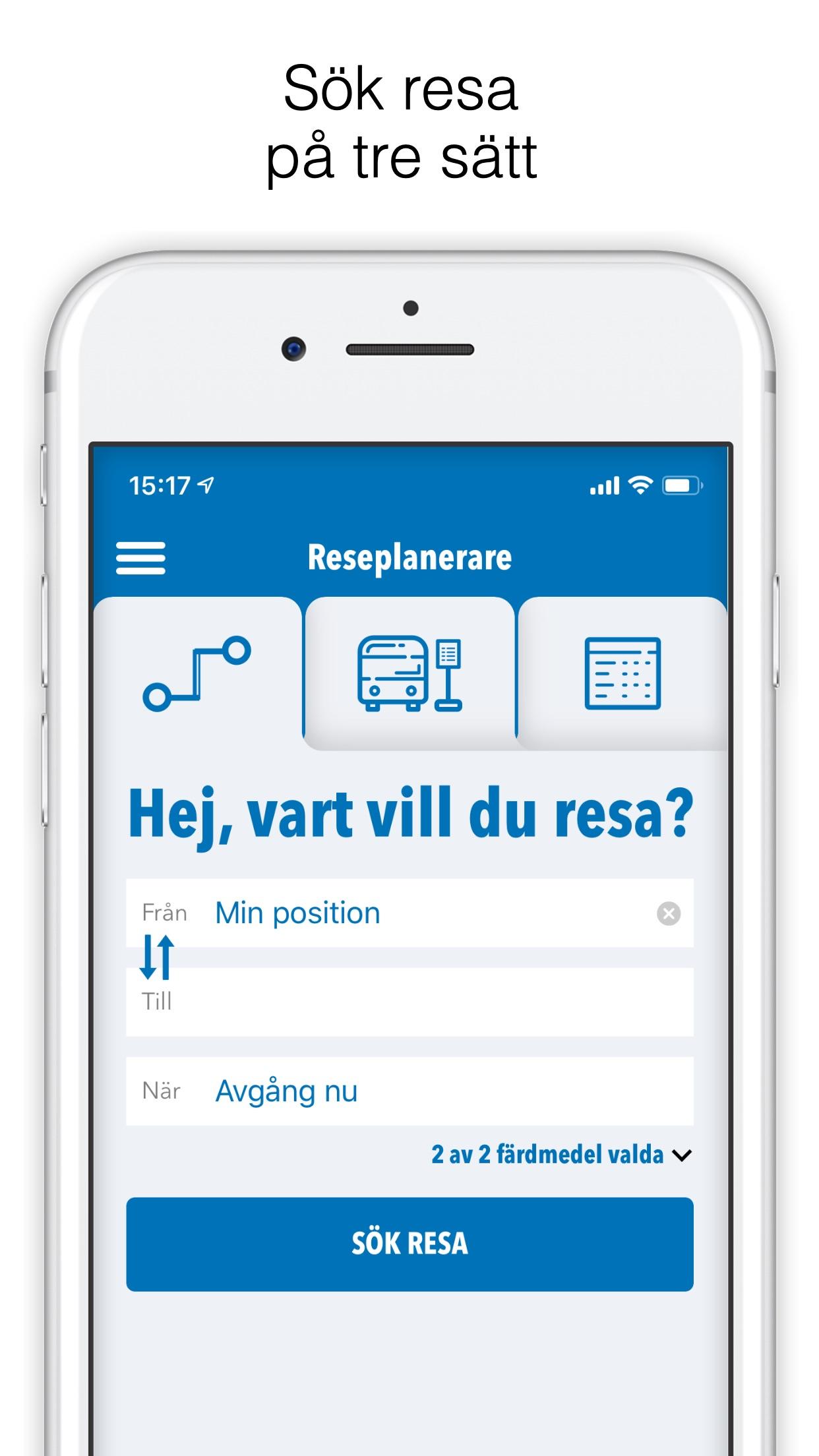 Länstrafiken Örebro Screenshot