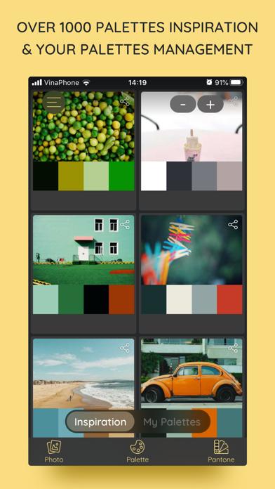 iPalettes - Color palettes Screenshots