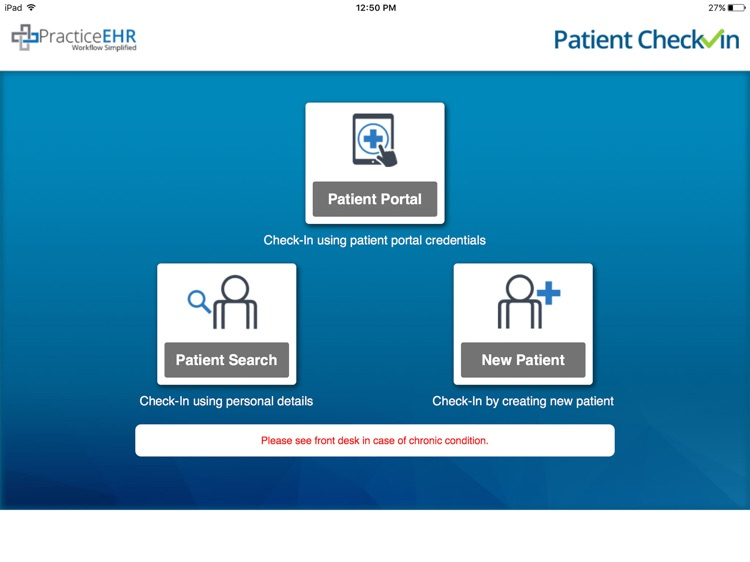Practice EHR Patient Check-In screenshot-4