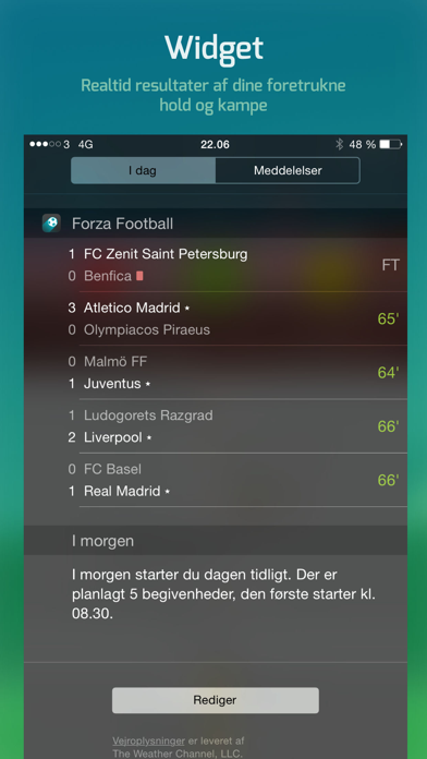 Screenshot for Forza Football in Denmark App Store