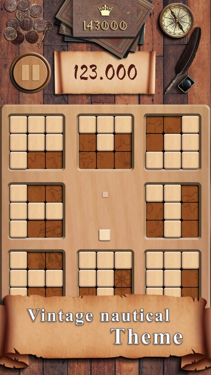 Woody 88: Fill Squares Puzzle screenshot-0