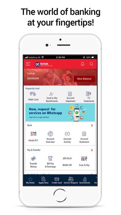 Kotak - 811 & Mobile Banking screenshot one