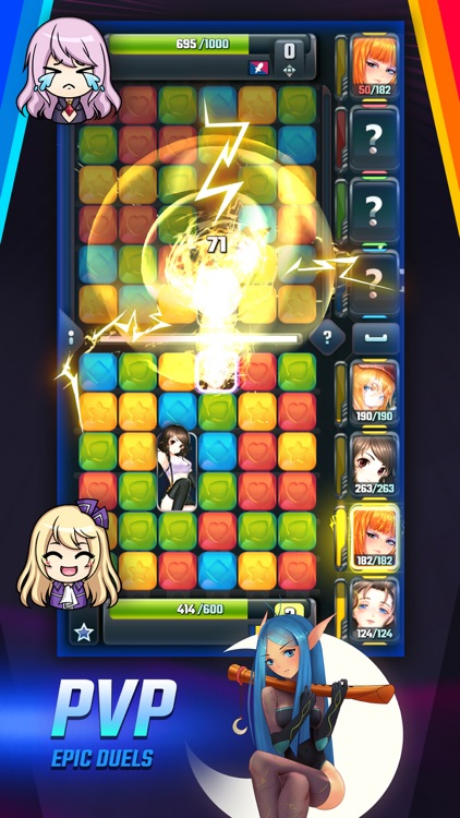 Girls Galaxy: Puzzle Arena