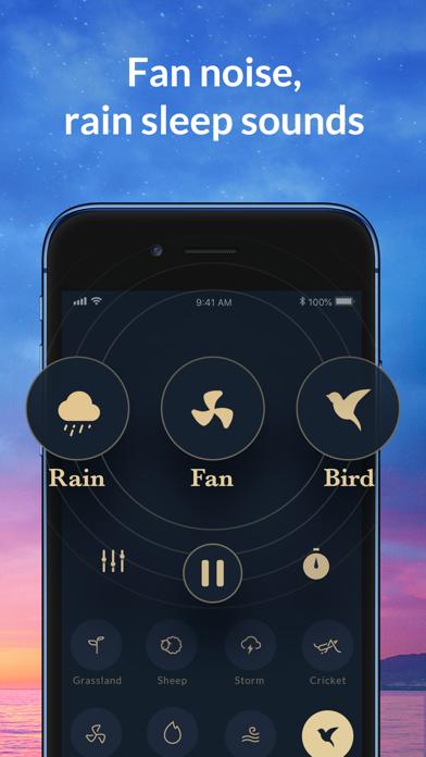 Sleep Sounds White Noise, Rain Screenshot