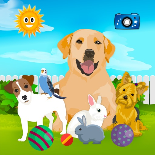 My Pets: Cat & Dog For Kids