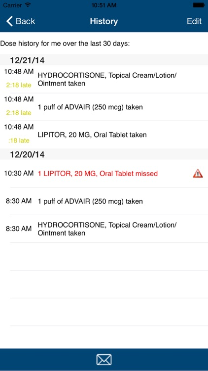Dosecast: My Pill Reminder App screenshot-4