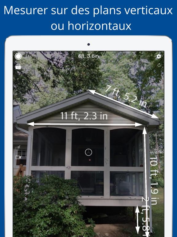 Screenshot #4 pour Mesurer 3D Pro - AR à mesurer