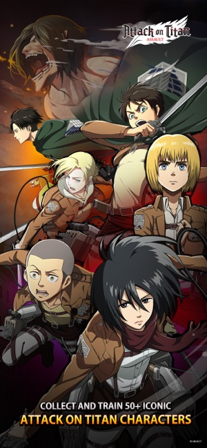 Mod Game Attack on Titan: Assault for iOS