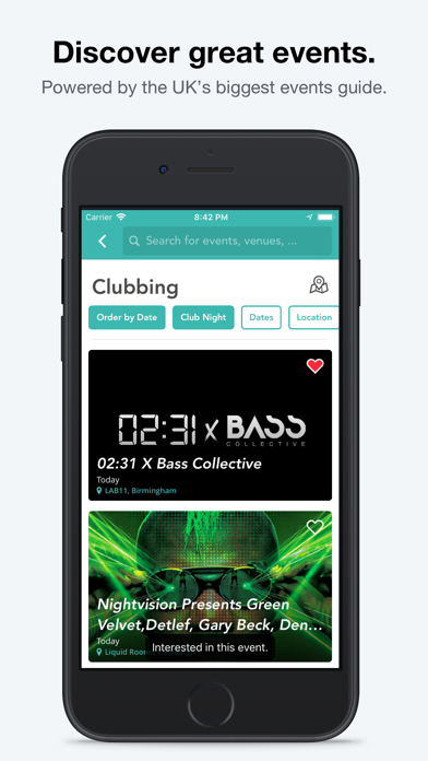 Screenshot #3 pour Skiddle: Events and Tickets