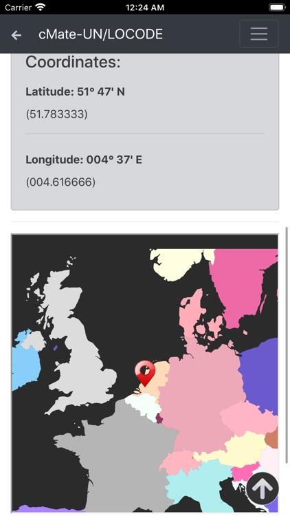 cMate-UN LOCODE screenshot-3