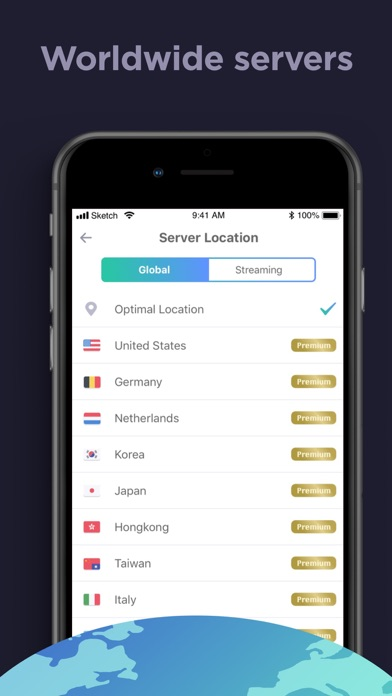 Screenshot for VPN Master - Secure VPN in New Zealand App Store