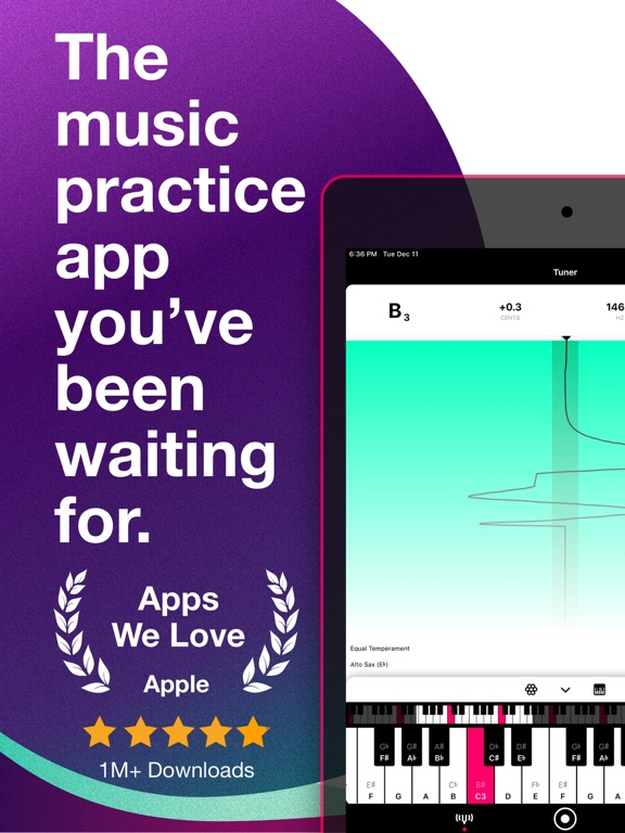 Tunable Tuner & Metronome IPA Cracked for iOS Free Download