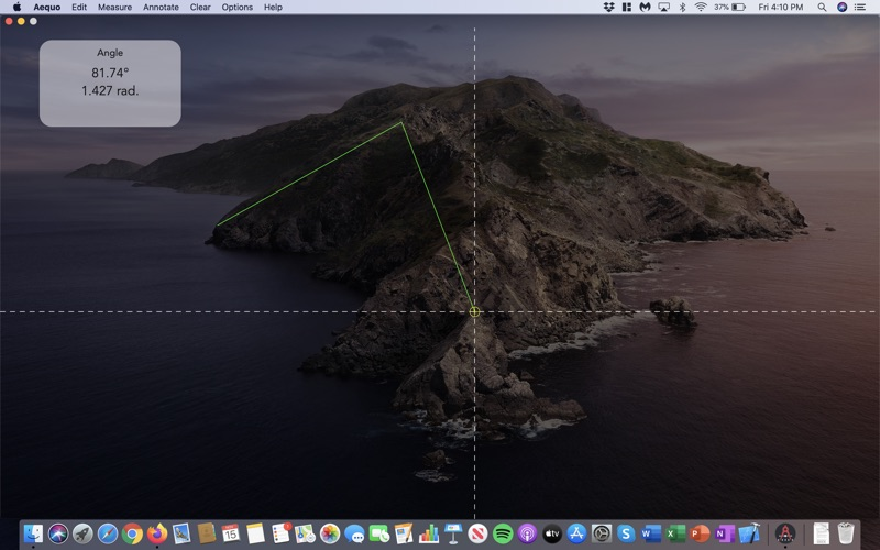 Aequo: On-Screen Measurements for Mac